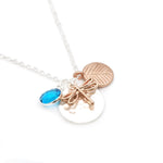 Gardens by the Bay - Fashion Costume Jewellery - Metallic Bronze Dragonfly Necklace