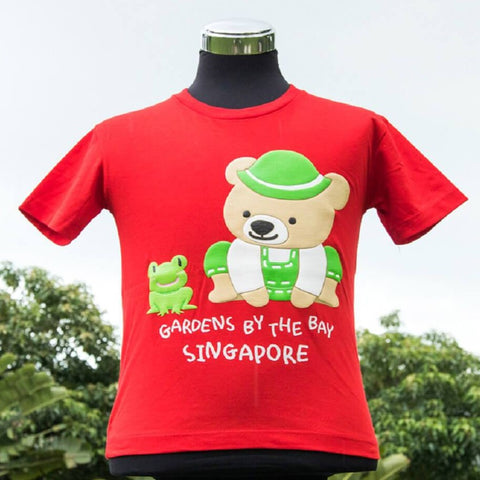 Gardens by the Bay - Fun Felix & Naughty Nicholas Collection - NAUGHTYNICHOLASKIDST-SHIRT_RED