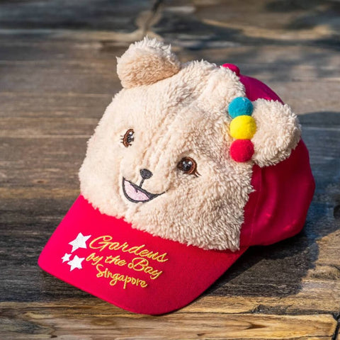 Gardens by the Bay - Gardens by the Bay Bear Collection - PLAYFUL PRISCA BASEBALL CAP