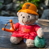 Gardens by the Bay - Gardens by the Bay Bear Collection - PLAYFUL PRISCA WITH CATAPULT (10 INCH)