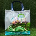 Gardens by the Bay - Merchandise Collection - Bags and Pouches - PVC Tote Bag City in a Garden (Baby Blue)