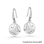 Gardens by the Bay - Costume Jewellery Collection - Parvana Earrings made with SWAROVSKI® Crystals