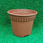 Gardens by the Bay - Gardening Supplies - RD-120 Smoky Brown Plastic Pot