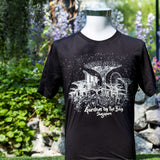 Gardens by the Bay - Family T-Shirt Collection - SUPERTREE GROVE GLOW MEN'S T-SHIRT (BLACK)