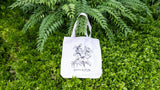 SUPERTREES WITH SAKURA COTTON TOTE BAG