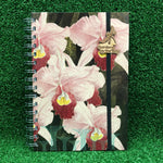 Gardens by the Bay - Merchandise Collection - Stationeries - Sustainable Wood Stationeries - Supertrees with Cattleya A5 Notebook