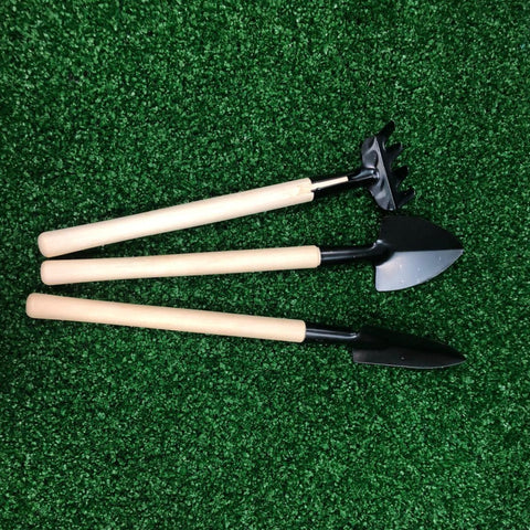 Gardens by the Bay - Gardening Supplies - Mini Gardening Tools Set (Set of 3pcs)