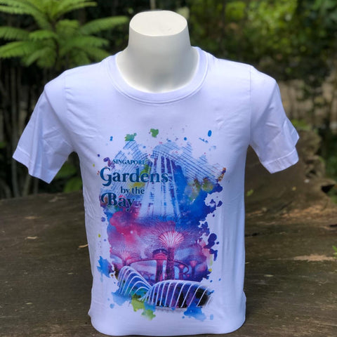 Merchandise Collection - Ready to Wear - Family T-Shirt - Scenery Watercolor Mens T-Shirt (White)