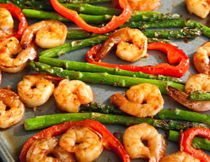 Online baked shrimp & vegetables in Toronto
