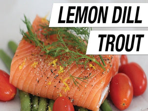 Online lemon dill trout in Toronto