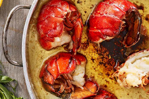 Buy Honey Garlic Butter Poached Lobster Tails in Peterborough