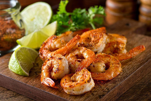 Buy lemon garlic shrimp skewers in Peterborough