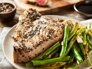 Smoky Grilled Tuna Steak