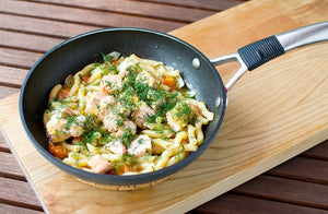 Buy creamy salmon pasta in Peterborough