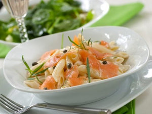 Buy creamy salmon pasta in Barrie