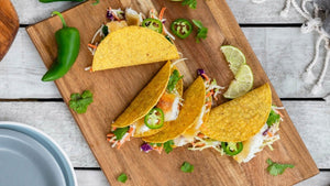 Buy crispy tacos & garlic lime coleslaw in Kingston