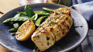 Buy grilled halibut with honey lemon in Kingston