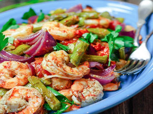 Buy baked shrimp & vegetables in Tillsonburg