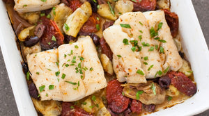 Buy mediterranean baked cod in Kingston