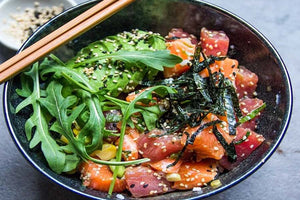 Tuna Salmon Pokebowl