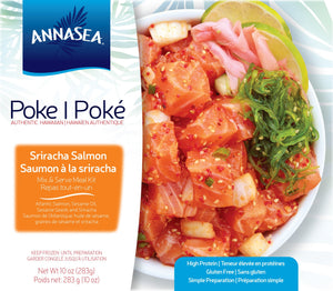 Poke Kit - Sriracha Salmon