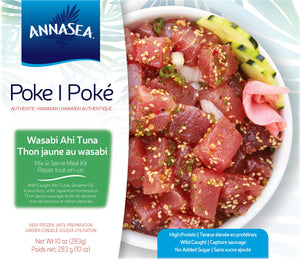Poke Kit - Wasabi Yellowfin Tuna