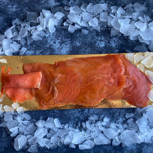 Frozen Norwegian Smoked Salmon - Pre Sliced
