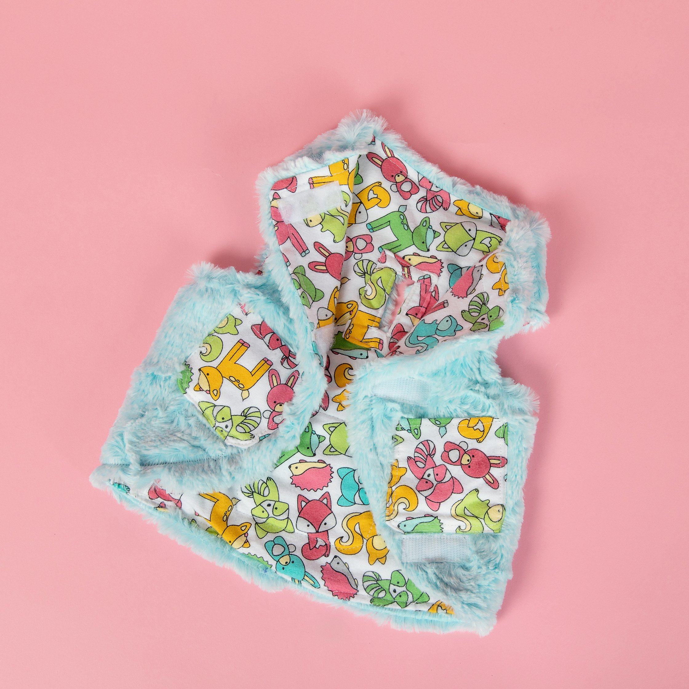 Reversible Cuddle Time Vest Toodles Lane