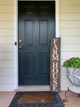 Load image into Gallery viewer, Wooden Welcome Sign - Farm House