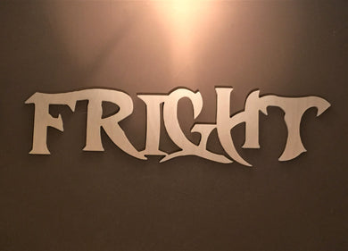 Unfinished Words for Halloween, Fright