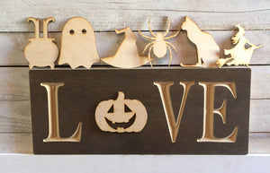 "The Adjustable Love Sign Starter Kit, Halloween ""Extended"""