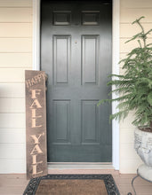 Load image into Gallery viewer, Wooden Welcome Sign - Happy Fall Y'all