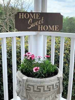 Wooden Welcome Sign- Small - Home Sweet Home