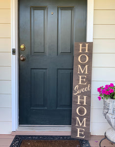 Wooden Welcome Sign - Home Sweet Home