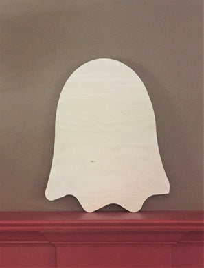 Unfinished Wood Ghost, Large