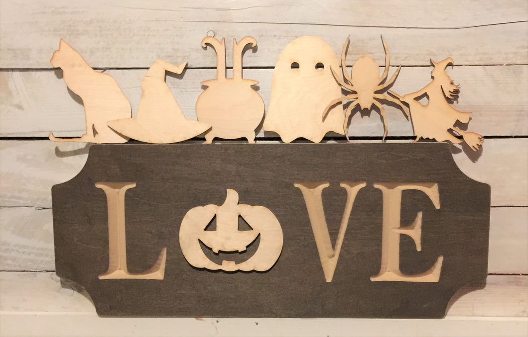 The Adjustable Love Sign Starter Kit, Halloween
