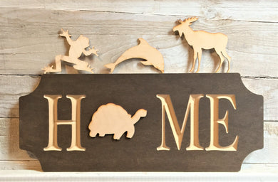 The Adjustable Home Sign Starter Kit, Animals