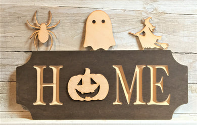 The Adjustable Home Sign Starter Kit, Halloween