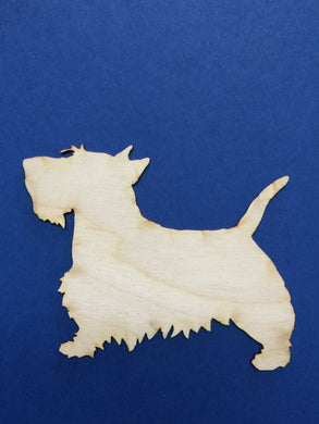 The Adjustable Sign - Scottie Dog