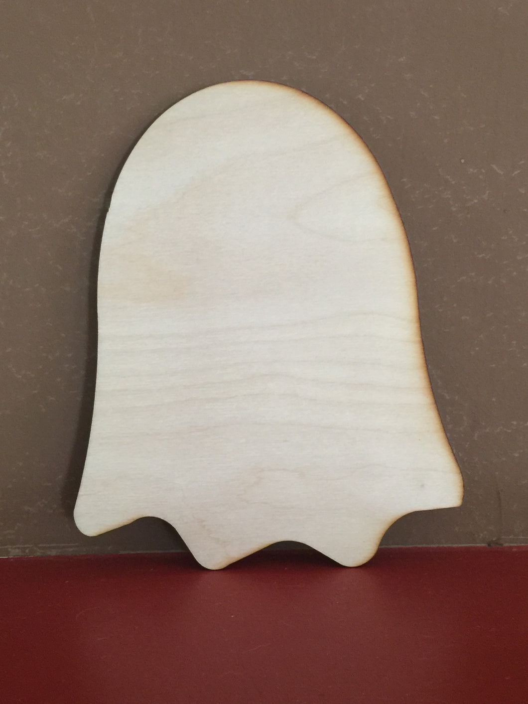 Unfinished, Wood, Ghost, small