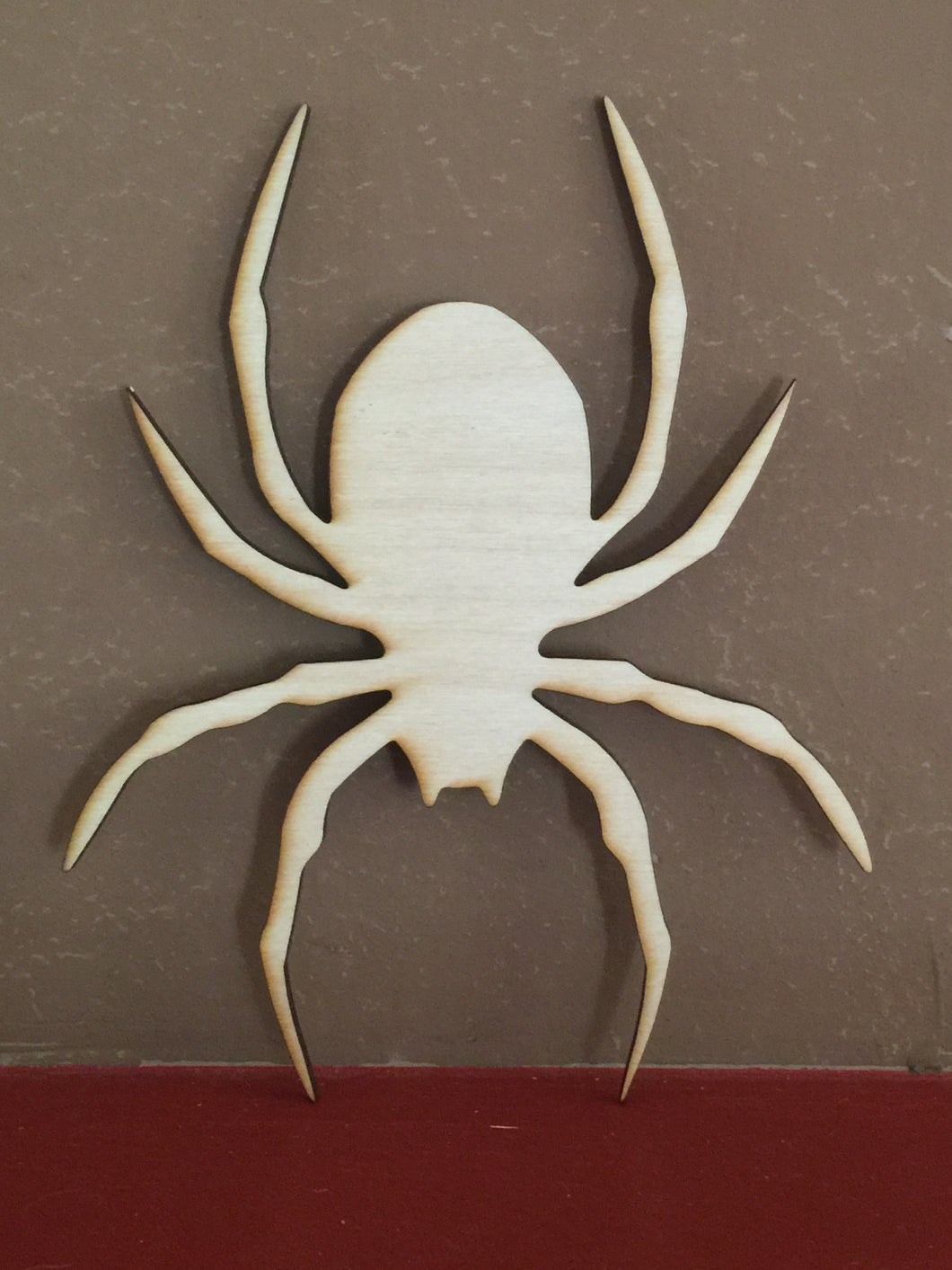 Unfinished, Wood, Spider, small