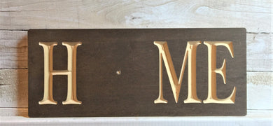 The Adjustable Home Sign, Squared Design