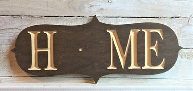 The Adjustable Home Sign, Victorian Design