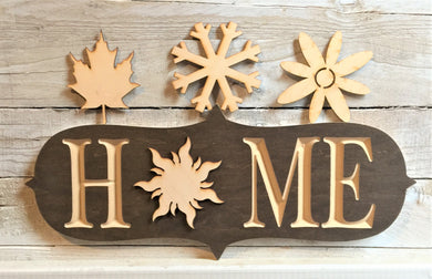 The Adjustable Home Sign Starter Kit, Seasons