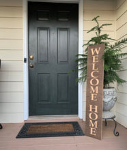 Load image into Gallery viewer, Wooden Welcome Sign - Welcome Home