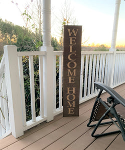 Wooden Welcome Sign - Welcome Home