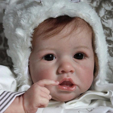 22'' Reborn Baby Girl Vivian , Beautiful Handmade Doll Gift