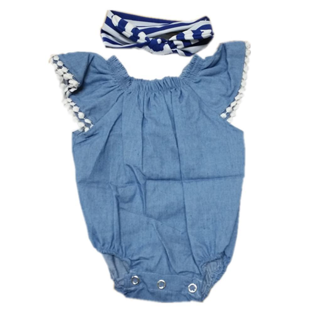 Reborn Dolls Baby Clothes Blue Outfits For 20