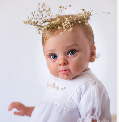 Real Life 22'' Little Barrefia Reborn Baby Doll Girl