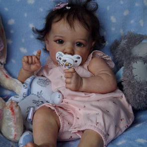22'' Little Cute Esther Reborn Baby Doll Girl